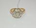 1149 Перстень c бриллиантами золото 583 пробы