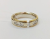 1084 Кольцо с бриллиантами золото 585 пробы