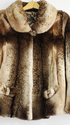 Шуба женская из меха НОРКИ