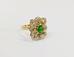 961 Перстень с бриллиантами золото 750 пробы