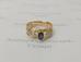 1291 Перстень с бриллиантами золото 585 пробы