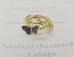 1286 Перстень с бриллиантом золото 585 пробы