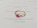 1284 Перстень с бриллиантами золото 585 пробы